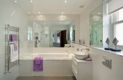 Dbj woodford bathrooms for Custom made mirrors for bathrooms